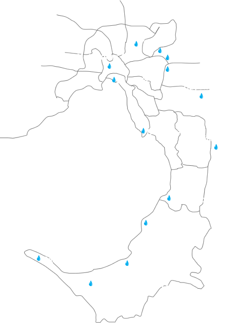 Juelz Plumbing Service Areas